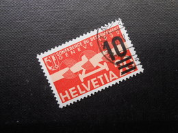 CH ZNr.21  10a.20C  Flugpost  1935/38  Z CHF 3.00 - Luftpost
