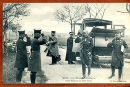 57  CPA De METZ  Der Kaiser In Lothringen     Joli Plan Peu Courant      1912     Bon état (petit Accroc à Droite) - Metz