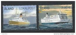 Aland 2013 N°370 Et 381 Neufs  Ferrys - Aland