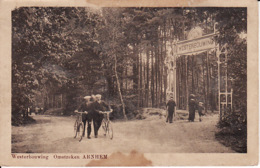 2091  102Arnhem, Westerbouwing 1918 (vlekken Op De Kaart) - Arnhem