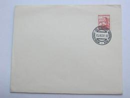 1937 , Wien ,  Hausfrau-Ausstellung  , Klarer Sonderstempel Auf Brief - Briefe U. Dokumente