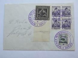 1935 , Wien - Messe  , Klarer Sonderstempel Auf Brief - Briefe U. Dokumente