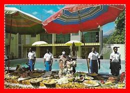 CPSM/gf  RABAUL (Papouasie-Nouvelle-Guinée)   Motel Kaivuna, Animé, Présentation De La Restauration...I0461 - Papouasie-Nouvelle-Guinée
