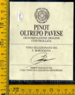 Etichetta Vino Liquore Pinot Oltrepo Pavese Gialdi Sa Mendrisio - Etichette