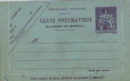 235 DA 60 C Champlain Pneumatique - Entiers Postaux