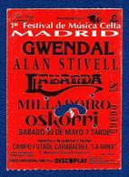 Gwendal-Alan Stivell (1º Festival Celta Madrid) - Concert Tickets