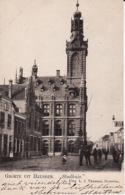 """2091  372Heusden, Groete Uit Heusden ,,Stadhuis"""" - Niederlande"""