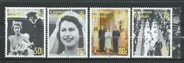 Cayman Islands 2007 The 60th Anniversary Of The Wedding Of Queen Elizabeth II And Prince Phillip.stamps MNH - Kaimaninseln