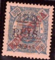 Sao Tomé E Príncipe 1923 -  Surcharged  /Saint-Thomas-et-l'île Du Prince 10/130/300 C/R Blue Paper NEUF - St. Thomas & Prince