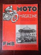 Moto Magazine N° 4 Schaerbeek - Moto-ball - Naples - Après Le Salon - ... - Auto/Moto