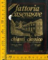 Etichetta Vino Liquore Chianti C. 1987 Casenuove Greve In Chianti - Altri