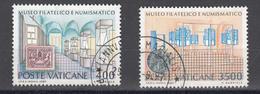 """Vaticano - 1987 """"Museo Filatelico E Numismatico"""" - Vatican"""