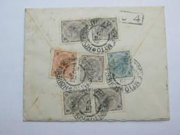 1903 , HOHENMAUTH  , Klarer Stempel Auf Brief  Nach Holland Mit Buntfrankatur - 1850-1918 Empire