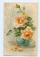 U1536/ C. Klein  Rosen  Verlag: Meissner & Buch, Litho AK 1907 - Klein, Catharina