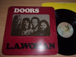 THE DOORS : L.A. Woman : French Initial Release In UK Cover Rock Blues Psych - 1971 LP 33T Rare Vinyl - Collectors