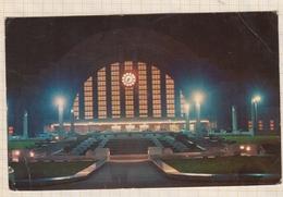9AL249 NIGHT VIEW OF CINCINNATI UNION TERMINAL  2 SCAN - Cincinnati