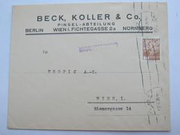 1935 , 20 Groschen Auf Mischsendung - Briefe U. Dokumente
