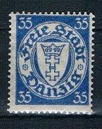 Danzig Michel Nr. 215 Postfrisch Mit Falz - Danzig