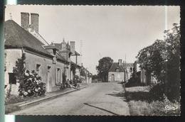 Cpa Allogny - Route De Bourges - Circulée 195x - Autres Communes