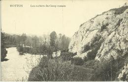 Hotton -- Les Rochers Du Camp Romain.      (2 Scans) - Hotton
