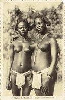 Cpa  Région De Bambari Deux Beautés N'Bandas - Centrafricaine (République)