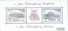 Austria Block30 (complete Issue) Unmounted Mint / Never Hinged 2005 Burgtheater - Blocks & Sheetlets & Panes