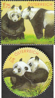 Austria 2409-2410 (complete Issue) Unmounted Mint / Never Hinged 2003 Panda-Research - 1945-.... 2nd Republic