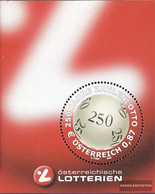 Austria Block17 (complete Issue) Unmounted Mint / Never Hinged 2002 Lotto In Austria - Blocks & Sheetlets & Panes