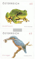 Austria 2716-2717 (complete Issue) Unmounted Mint / Never Hinged 2008 Animal Welfare - 1945-.... 2nd Republic