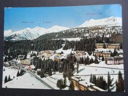 19873) MADONNA DI CAMPIGLIO PASSO CARLO MAGNO VIAGGIATA - Trento