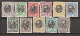 Serbia 1905 MiN°84-94 Cpl 11v **/ MNH Vedere Scansione - Serbia
