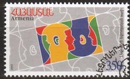 Armenie Mi 448 Europa Language Gestempeld Fine Used - Armenië