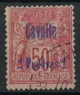 Cavalle (1893) N 7 (o) - Oblitérés