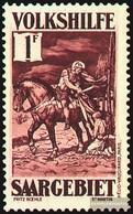 Saar 153 Unmounted Mint / Never Hinged 1931 Volkshilfe: Paintings (IV) - 1920-35 League Of Nations
