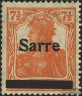 Saar 5a I MNH 1920 Germania - 1920-35 League Of Nations