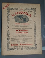 Grand Buvard LA PATERNELLE Assurance INCENDIE 1903 Très Joli Graphsme - Bank & Insurance