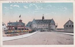 Rhode Island Narragansett Pier The Old Casino Arch 1919 - United States