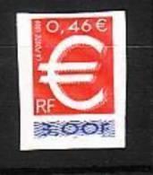 1999-FRANCE N°3215** TIMBRE EURO. ADHESIF N°24 - Ongebruikt