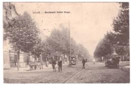LILLE - Boulevard Victor Hugo (carte Animée) - Lille