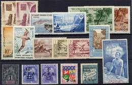 TAAF - REUNION - OCEANIE - SPM / PETIT ENSEMBLE */** (ref T209) - France (former Colonies & Protectorates)