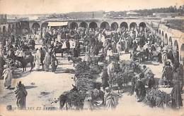 Afrique Algérie> Scènes & Types Marché Du Bois Mort  (Edition  LL N°6058 )* PRIX FIXE - Algérie