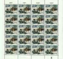 Luxembourg Feuille De 20 Timbres à 0,70 Euro 60.Anniversaire De La Libération Et Fin De La Seconde Guerre Mondiale 2004 - Full Sheets