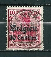BZ/OC 3 Gestempeld GENVAL - Weltkrieg 1914-18