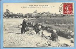 Perros-Guirec 22 Ploumanac'h Le Lavoir De Saint-Guirec Et Le Chapeau De Napoléon 2scans 07-09-1918 Blanchisseuses - Ploumanac'h