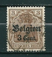 BZ/OC 11 Gestempeld GOUGNIES - Weltkrieg 1914-18