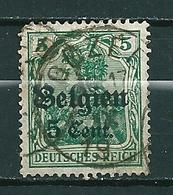BZ/OC 12 Gestempeld GOZEE - Weltkrieg 1914-18