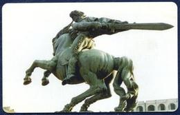 ARMENIA ARMENTEL 50  UNITS CHIP PHONECARD TELECARTE MONUMENT DAVID OF SASYN PERFECT USED - Armenië