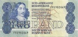 AFRIQUE DU SUD 2 RAND ND1981-90 VF+ P 118 Sign6 - Afrique Du Sud