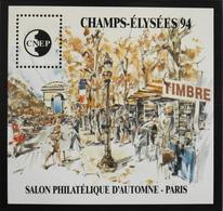 FEUILLET SOUVENIR CNEP - 1994 - CHAMPS-ELYSEES 94 - N° 19 - NEUF** - SUPERBE - CNEP