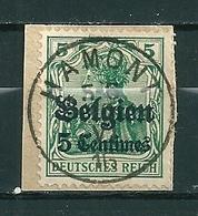 BZ/OC 2 Gestempeld HAMONT - Weltkrieg 1914-18